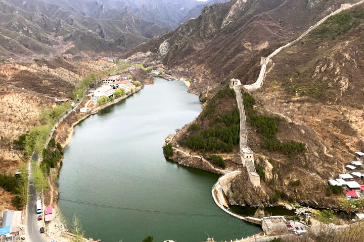 Great Wall Huanghuacheng to the Walled Village, 2019/04/13 photo #1