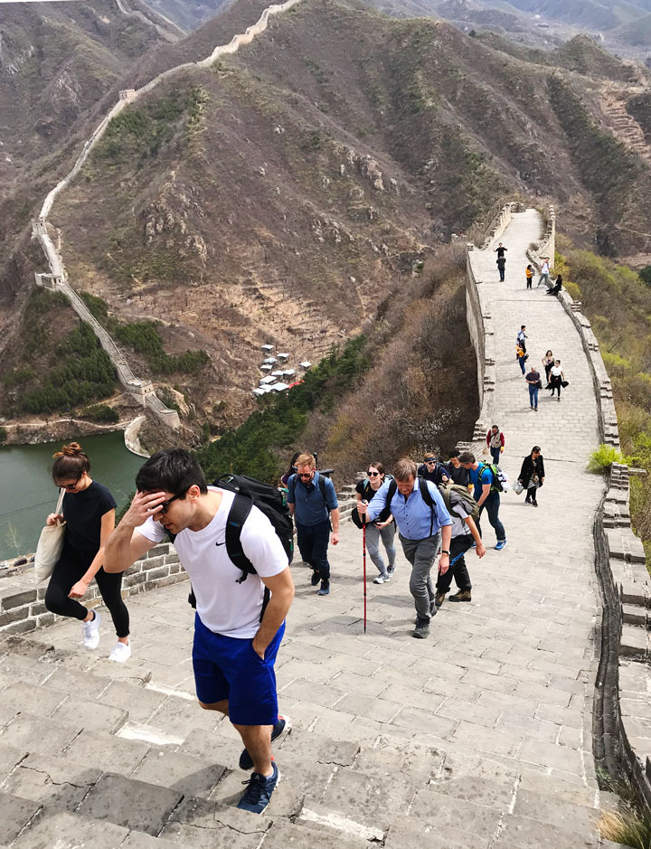 Great Wall Huanghuacheng to the Walled Village, 2019/04/13 photo #4