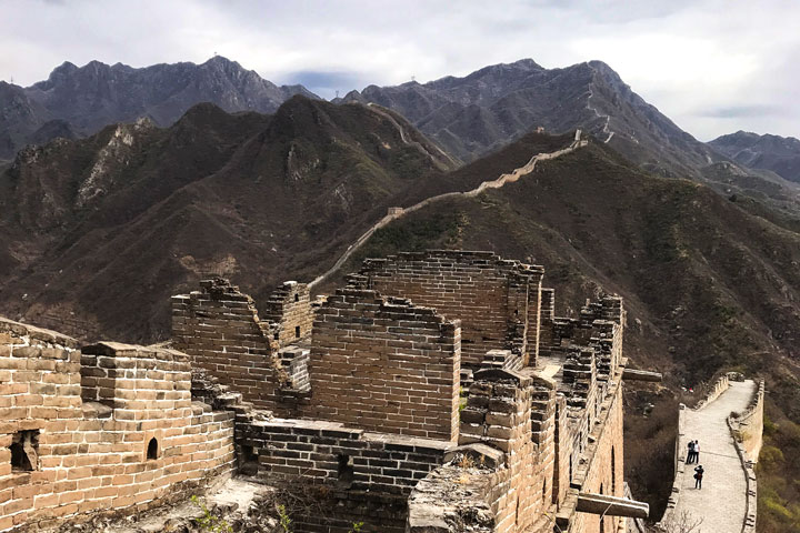Great Wall Huanghuacheng to the Walled Village, 2019/04/13 photo #5