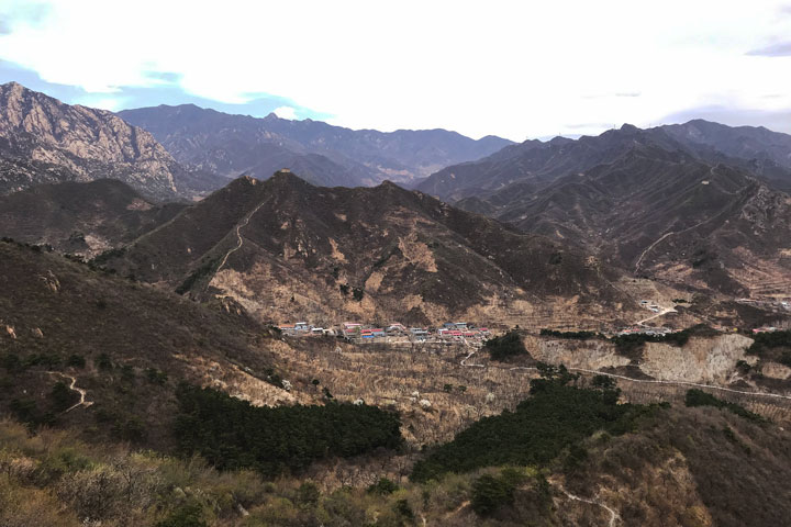 Great Wall Huanghuacheng to the Walled Village, 2019/04/13 photo #8
