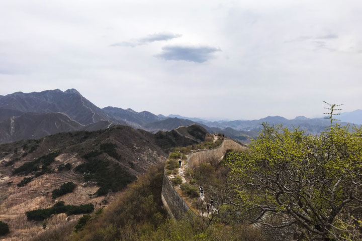 Great Wall Huanghuacheng to the Walled Village, 2019/04/13 photo #9