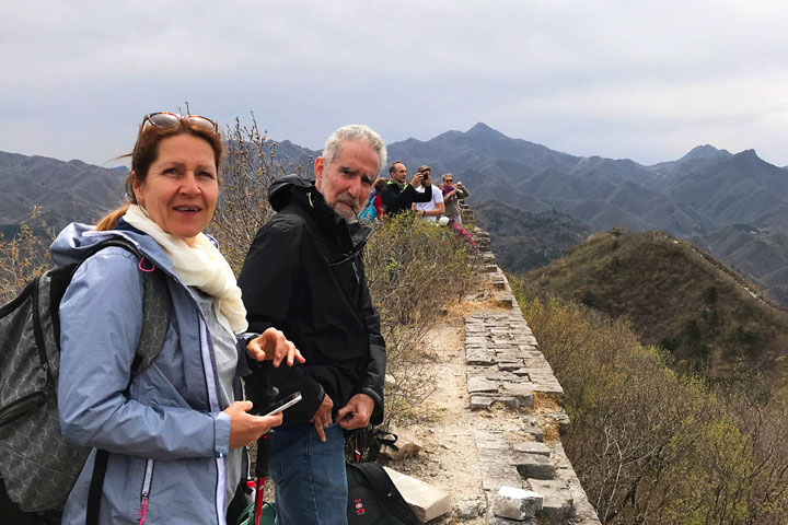Great Wall Huanghuacheng to the Walled Village, 2019/04/13 photo #12
