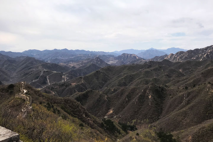 Great Wall Huanghuacheng to the Walled Village, 2019/04/13 photo #16