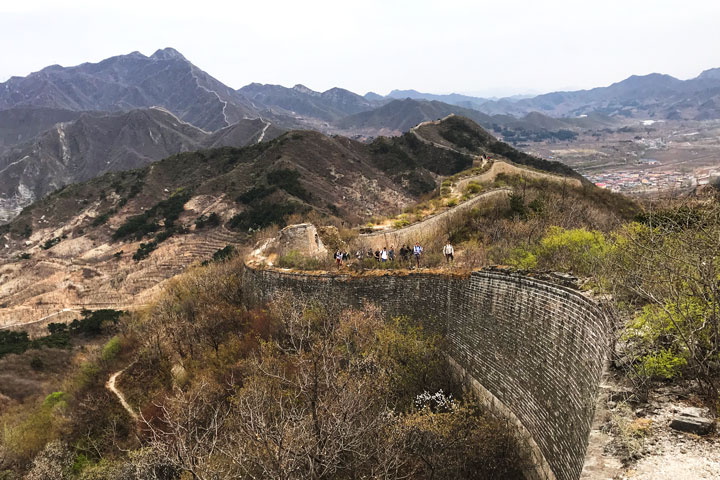 Great Wall Huanghuacheng to the Walled Village, 2019/04/13 photo #17
