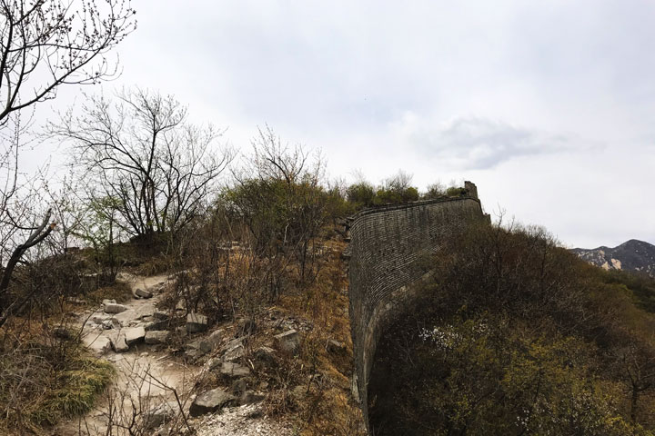 Great Wall Huanghuacheng to the Walled Village, 2019/04/13 photo #18