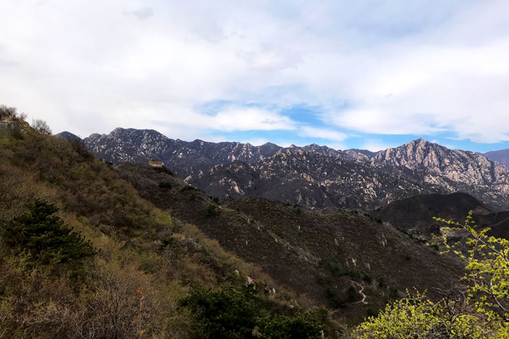 Great Wall Huanghuacheng to the Walled Village, 2019/04/13 photo #19
