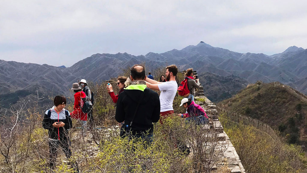 Great Wall Huanghuacheng to the Walled Village, 2019/04/13