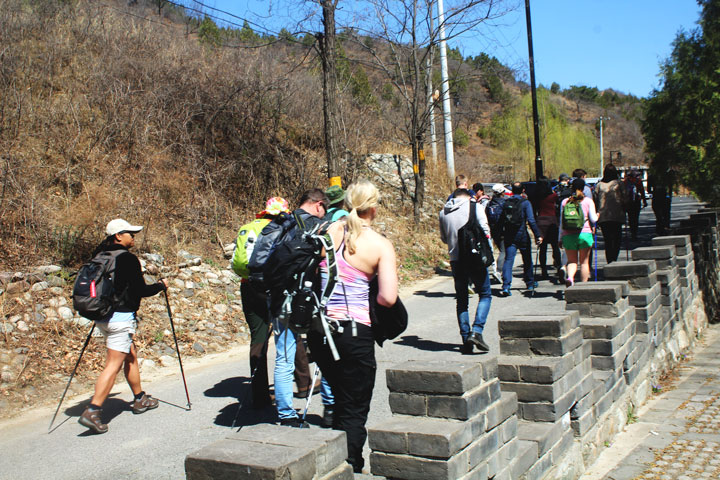 Gubeikou to Jinshanling Great Wall East, 20190414 photo #2