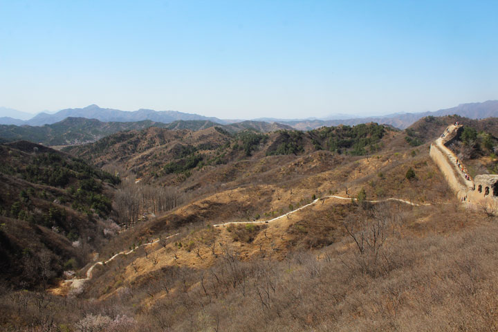 Gubeikou to Jinshanling Great Wall East, 20190414 photo #8