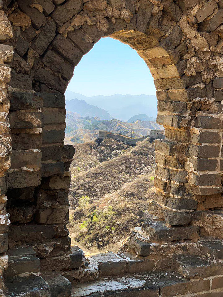 Gubeikou to Jinshanling Great Wall East, 20190414 photo #19