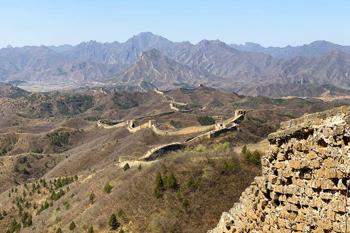 Gubeikou to Jinshanling Great Wall East, 20190414 photo #20