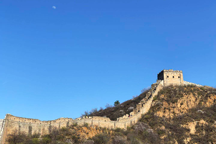 Gubeikou to Jinshanling Great Wall East, 20190414 photo #21
