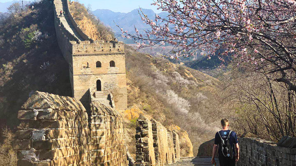 Gubeikou to Jinshanling Great Wall East, 20190414