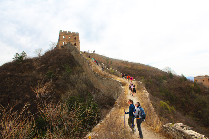 Gubeikou to Jinshanling Great Wall East, 2019/04/18 photo #14