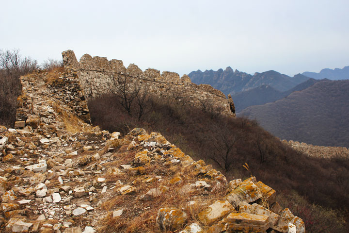 Zhenbiancheng Great Wall and Big Camp Plate Challenge, 2019/04/20 photo #5