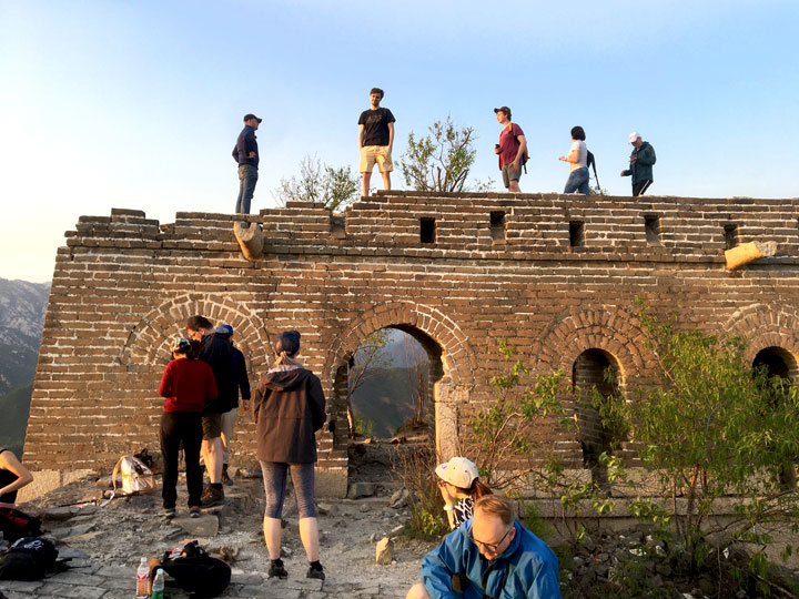 Sunset over the Huanghuacheng Great Wall, 2019/05/02 photo #1