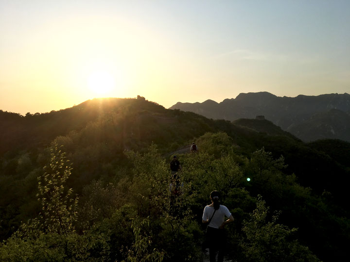 Sunset over the Huanghuacheng Great Wall, 2019/05/02 photo #10