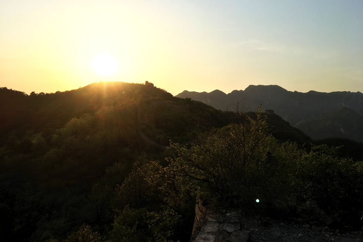 Sunset over the Huanghuacheng Great Wall, 2019/05/02 photo #11