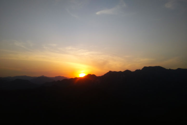 Sunset over the Huanghuacheng Great Wall, 2019/05/02 photo #12