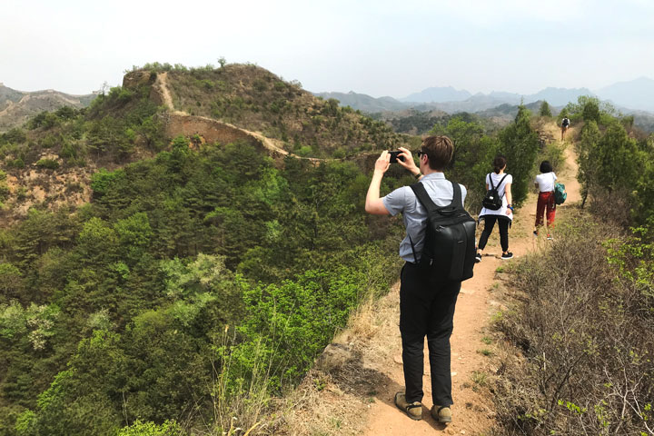 Gubeikou Great Wall hike for the Asian Infrastructure Investment Bank, 2019/05/03 photo #2