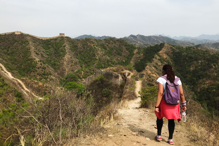 Gubeikou Great Wall hike for the Asian Infrastructure Investment Bank, 2019/05/03 photo #5