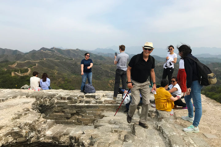 Gubeikou Great Wall hike for the Asian Infrastructure Investment Bank, 2019/05/03 photo #6