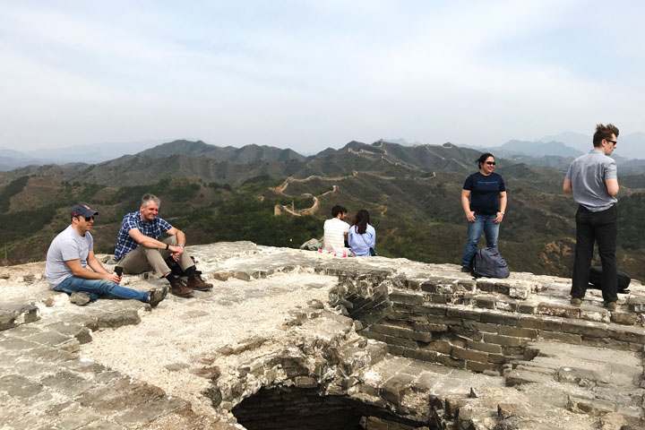 Gubeikou Great Wall hike for the Asian Infrastructure Investment Bank, 2019/05/03 photo #7