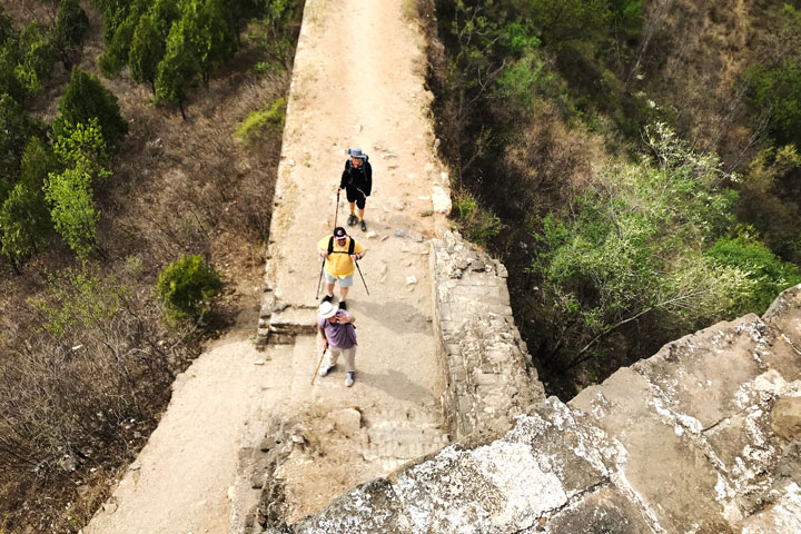 Gubeikou Great Wall hike for the Asian Infrastructure Investment Bank, 2019/05/03 photo #8