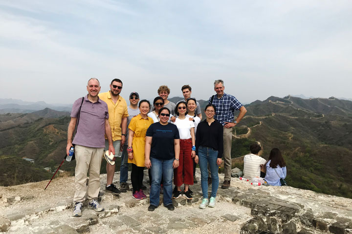 Gubeikou Great Wall hike for the Asian Infrastructure Investment Bank, 2019/05/03 photo #9