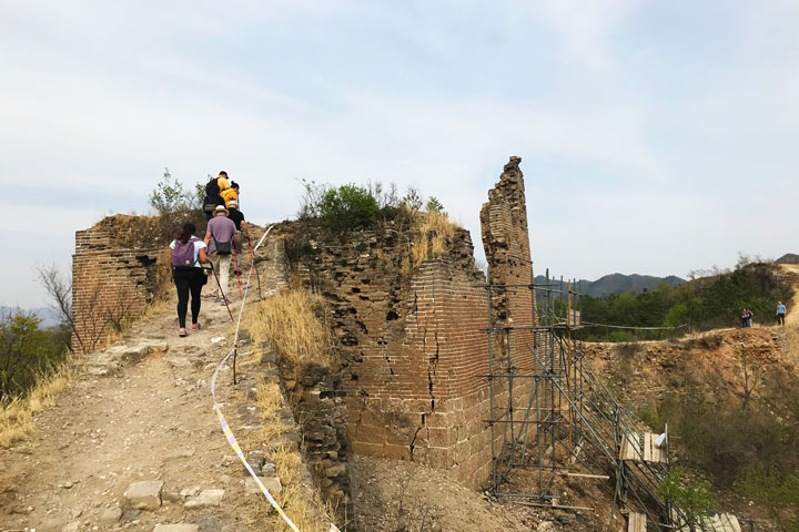 Gubeikou Great Wall hike for the Asian Infrastructure Investment Bank, 2019/05/03 photo #10