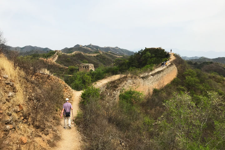 Gubeikou Great Wall hike for the Asian Infrastructure Investment Bank, 2019/05/03 photo #12
