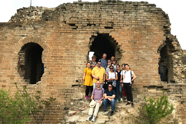 Gubeikou Great Wall hike for the Asian Infrastructure Investment Bank, 2019/05/03 photo #14