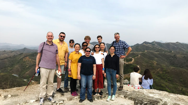 Gubeikou Great Wall hike for the Asian Infrastructure Investment Bank, 2019/05/03