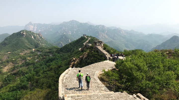 Longquanyu Great Wall to the Little West Lake, 2019/05/04