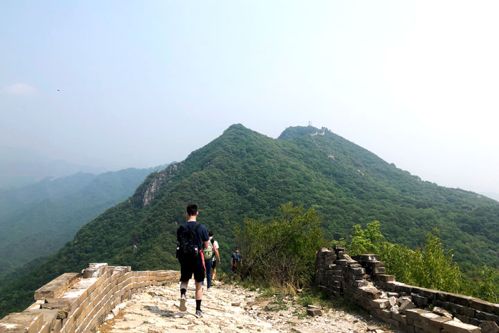 Jian kou to Mutianyu Great Wall, 2019/05/11 photo #4
