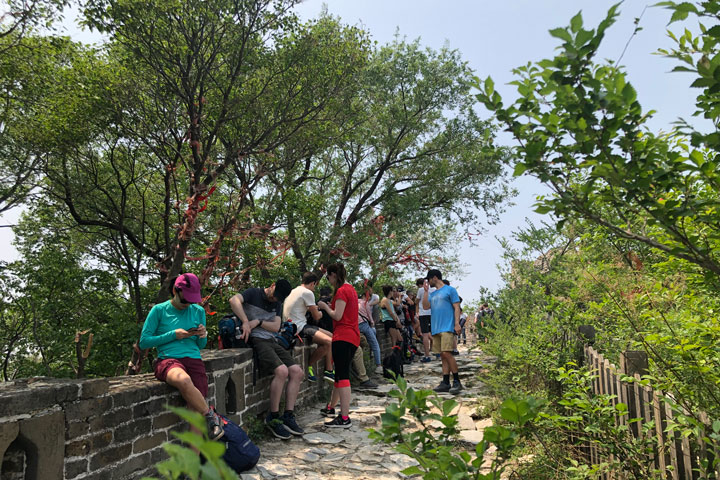 Jian kou to Mutianyu Great Wall, 2019/05/11 photo #10