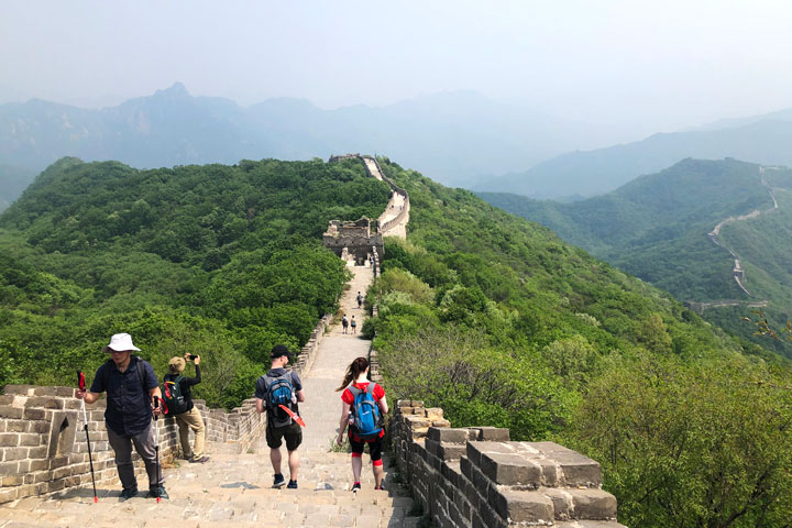 Jian kou to Mutianyu Great Wall, 2019/05/11 photo #11