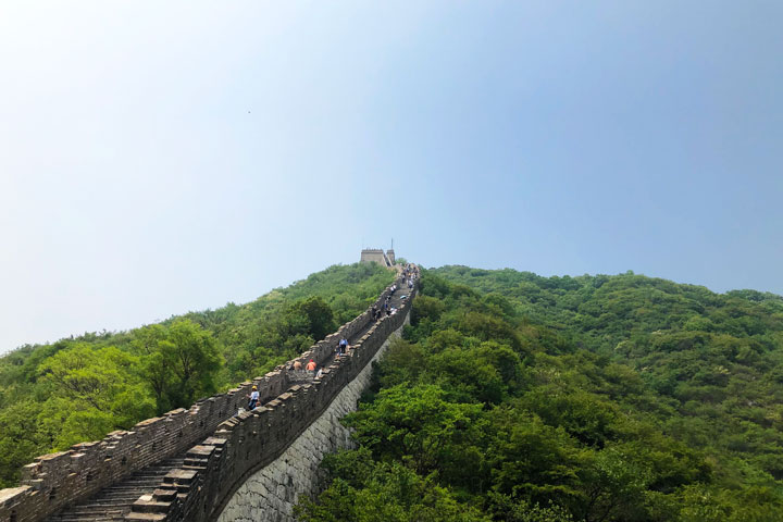 Jian kou to Mutianyu Great Wall, 2019/05/11 photo #14