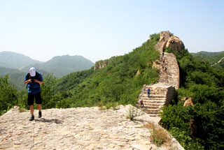 Longquanyu Great Wall to the Little West Lake, 2019/05/16