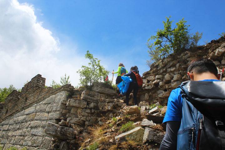 Waste-Free Wall Clean up the Jiankou 'Big West' Great Wall, 2019/05/19 photo #16