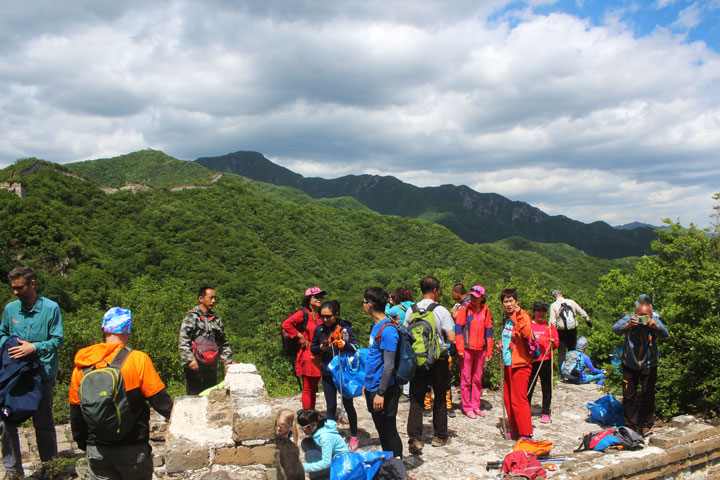 Waste-Free Wall Clean up the Jiankou 'Big West' Great Wall, 2019/05/19 photo #21