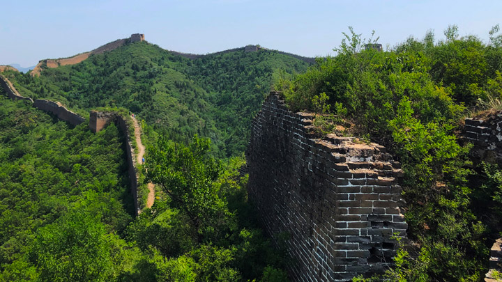 Gubeikou Great Wall Loop, 2019/06/23