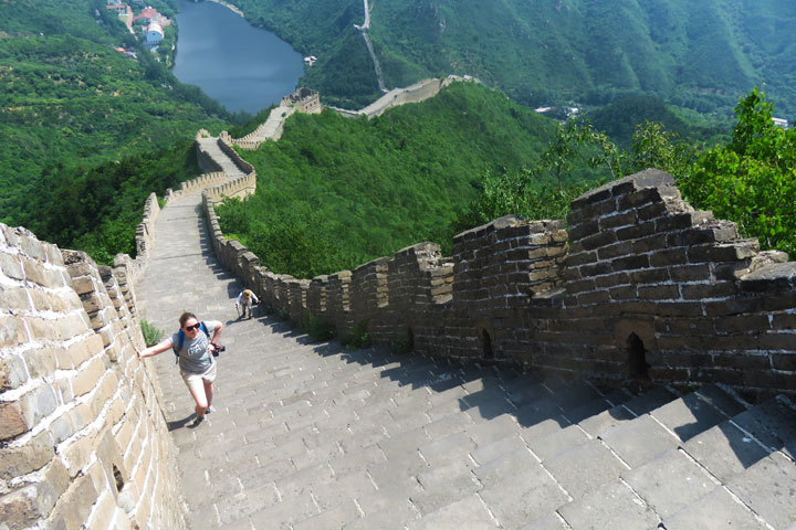 Huanghuacheng Great Wall to the Walled Village, 2019/06/07 photo #1