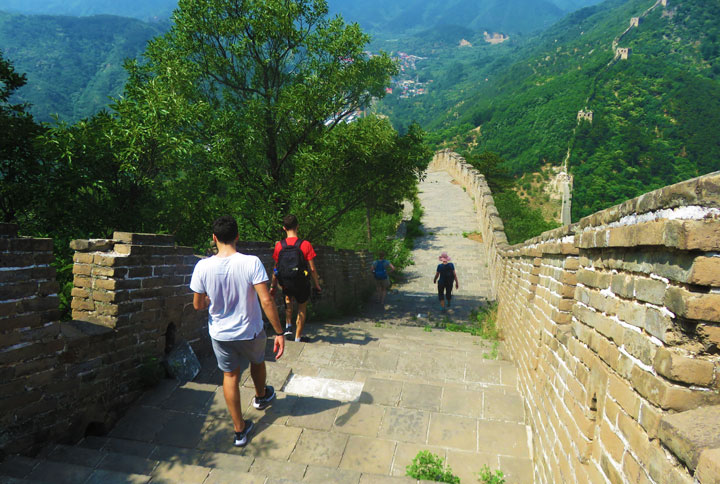 Huanghuacheng Great Wall to the Walled Village, 2019/06/07 photo #2