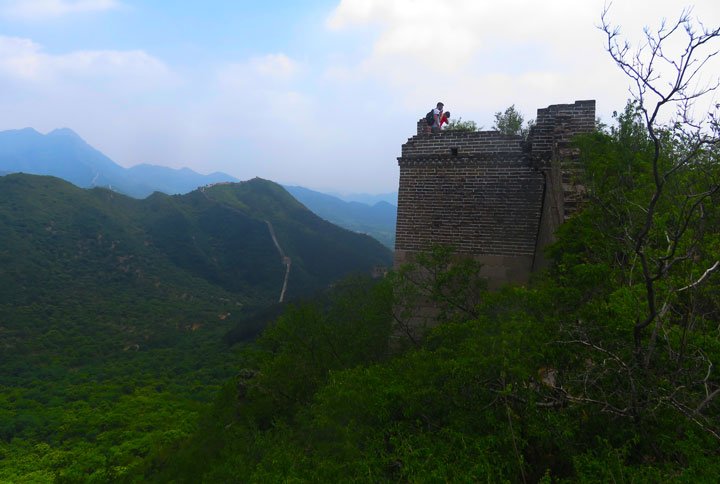 Huanghuacheng Great Wall to the Walled Village, 2019/06/07 photo #4