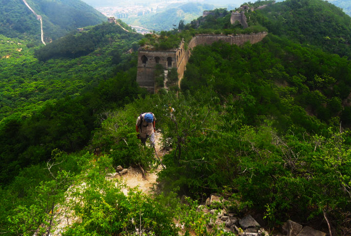 Huanghuacheng Great Wall to the Walled Village, 2019/06/07 photo #5