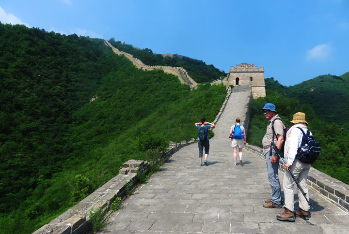Huanghuacheng Great Wall to the Walled Village, 2019/06/07 photo #14