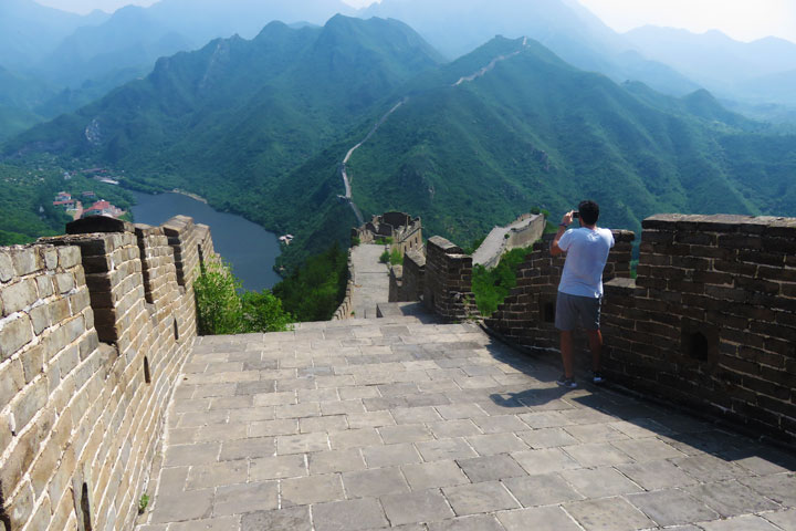 Huanghuacheng Great Wall to the Walled Village, 2019/06/07 photo #16