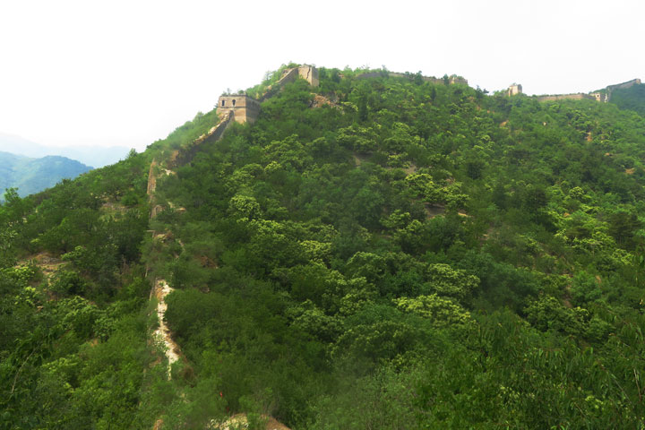 Huanghuacheng Great Wall to the Walled Village, 2019/06/07 photo #18