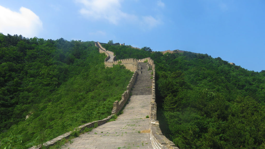 Huanghuacheng Great Wall to the Walled Village, 2019/06/07